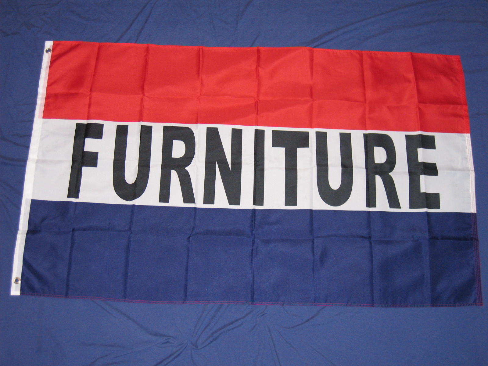 furniture advertising flag it is 3 39 x5 39 and is made from lightweight