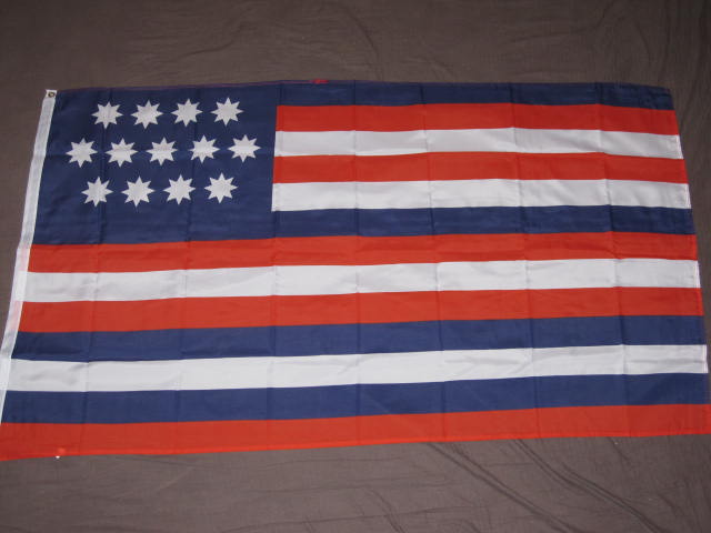 SERAPIS FLAG 3x5 JOHN PAUL JONES BANNER WAR 1779 F457